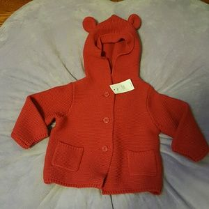 Gap brand new baby girl sweater
